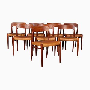 Dining Chairs by Niels Otto Møller, 1960s, Set of 8