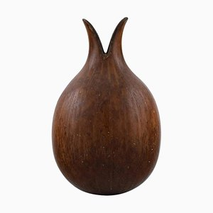 Glazed Ceramics Onion Shaped Vase by Gunnar Nylund for Rörstrand, 1960s