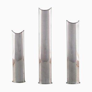 Vases Modernes par Lino Sabattini, Italie, 1960s, Set de 3