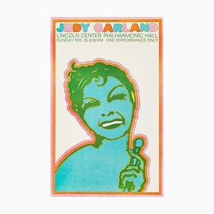 Judy Garland Poster by Seymour Chwast, 1968
