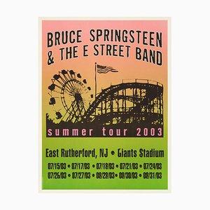 Poster Bruce Springsteen, 2003