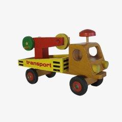 Camión de juguete infantil decorativo vintage