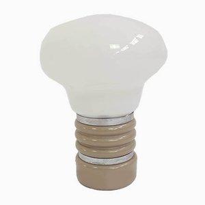 Kleine Deutsche Modell Bulb Tischlampe im Stil von Ingo Maurer, 1960er