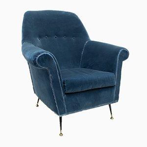 Italienische Mid-Century Sessel von Gigi Radice für Minotti, 1950er, 2er Set