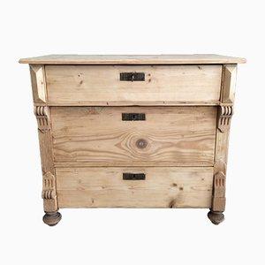 Antique Natural Wood Dresser