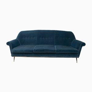 Italienisches Mid-Century Sofa von Gigi Radice für Minotti, 1950er