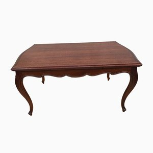 Rosewood Folding Dining Table, 1940s