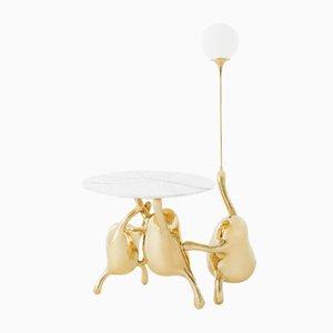 Tantan Beistelltisch mit Lampe von Zhipeng Tan