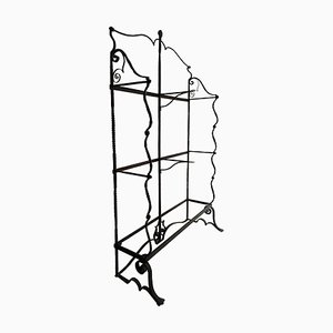 Wrought Iron Etagere from Umberto Bellotto, 1912