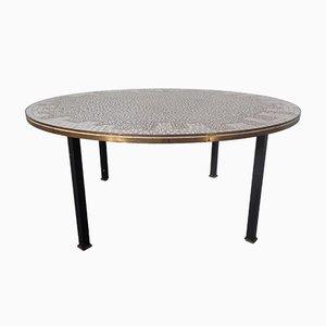 Deutscher Keramik Mosaik Tisch, 1960er