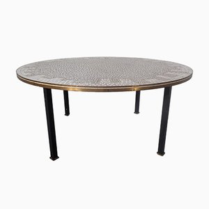 German Ceramic Mosaic Table, 1960s