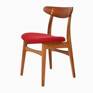Chaises de Salon Modèle CH30 par Hans J. Wegner pour Carl Hansen & Søn, 1960s, Set de 4