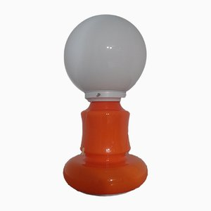 Italian Glass Standard Lamp, 1970s