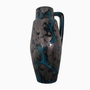 Large Glazed Ceramic 270-53 Vase from Scheurich, 1970s