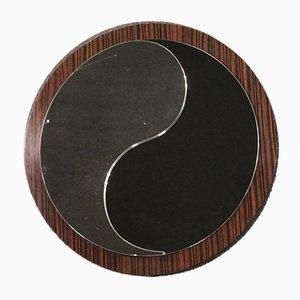 Italian Rosewood Mirror, 1970s