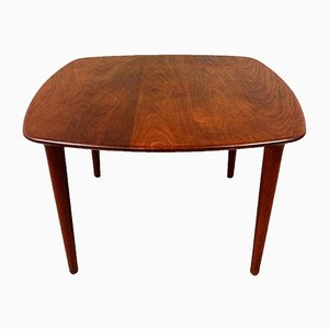 Solid Teak Wooden Coffee Table, Denmark, 1960s