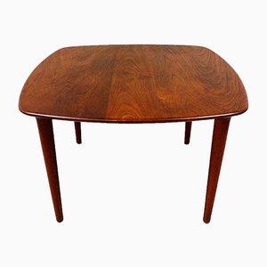 Solid Teak Wooden Coffee Table, Denmark, 1960s