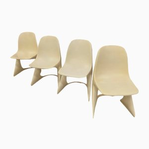 Casalino Dining Chairs by Alexander Begge for Casala, 1970s, Set of 4