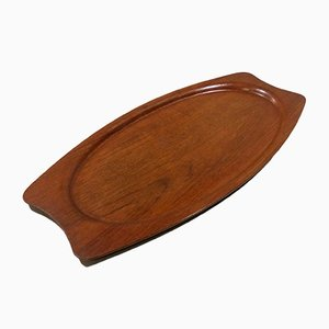 Teak Serving Tray from Silva, Denmark, 1960s