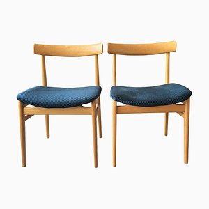 Swedish Dining Chairs by Alf Svensson for Bjästa, 1960s, Set of 4