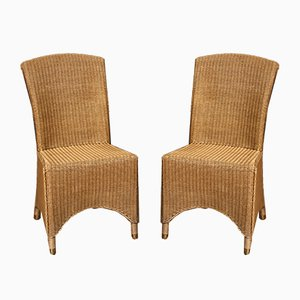 Dining Chairs from Lloyd Loom, 1990s, Set of 2