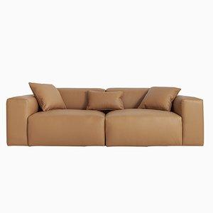 Deep Sofa aus Pu-Leder von Porventura