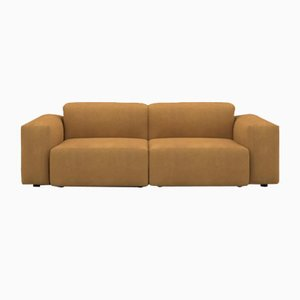 Deep Sofa in PU Leather from Porventura