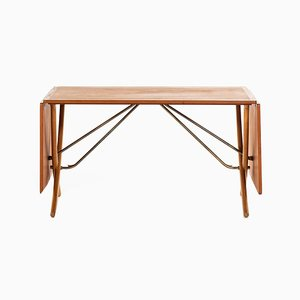 Model AT-304 Dining Table by Hans J. Wegner for Andreas Tuck, Denmark, 1950s