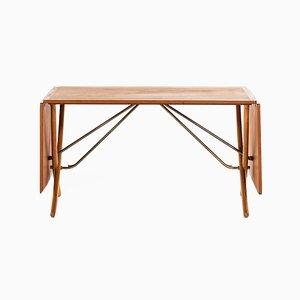 Table de Salle à Manger Modèle AT-304 par Hans J. Wegner pour Andreas Tuck, Danemark, 1950s