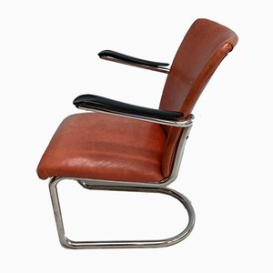 Vintage Armchair from De Wit Brothers, 1950s