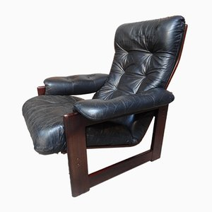 Vintage Rosewood & Leather Chair from Coja