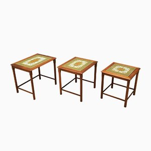 Danish Nesting Tables, 1970s