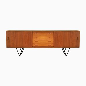 Danish Teak Sideboard from Clausen & Søn, 1970s