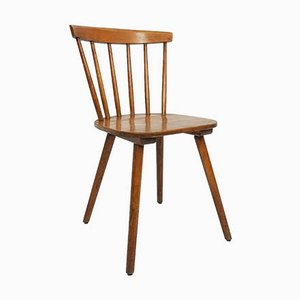 Dänischer Stuhl aus Massivem Holz von Ilmari Tapiovaara, 1960er