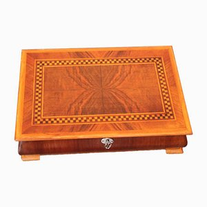 Polished Wooden Box, 1950s