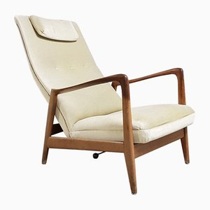 Mid-Century Model 829 Armchair by Gio Ponti for Cassina, 1950s