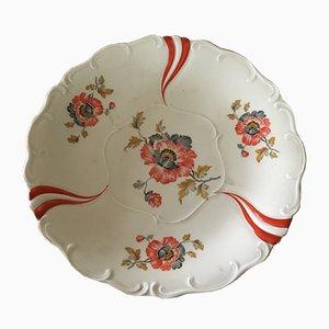 Porcelain Plate from Steinmann Tiefenfurt, 1920s