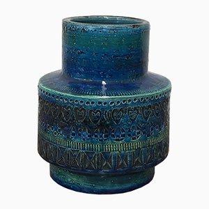 Vintage Keramikvase von Aldo Londi für Bitossi, 1960er