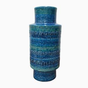 Vase Vintage en Céramique par Aldo Londi pour Bitossi, 1960s