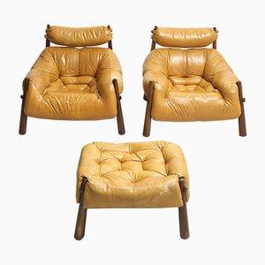 Brasilianische Sessel von Percival Lafer für MP Lafer, 1960er, 3er Set