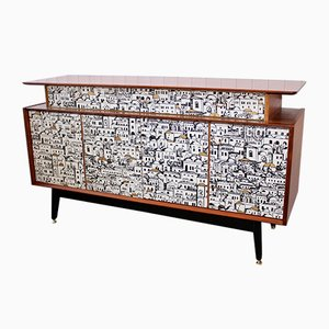 Mid-Century Teak Sideboard by Donald Gomme for E Gomme, 1950s