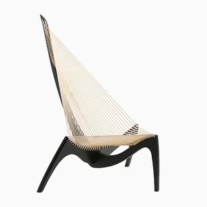 Dänischer Harp Chair von Jørgen Høvelskov für Christensen & Larsen, 1960er