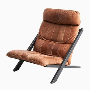 Swiss Lounge Chair by Ueli Berger for de Sede, 1970s