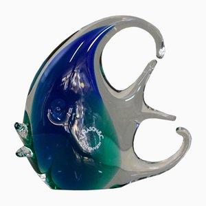 Submerged Murano Glass Fish from V. Nason & C., Italy, 1970s