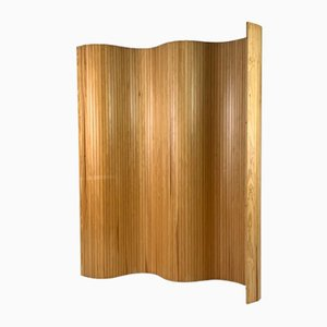 Vintage Wooden Room Divider Screen, 1970s