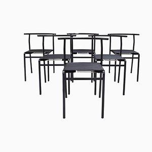 Chaises de Café par Philippe Starck pour Belarti, 1980s, Set de 6