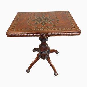Table Basse Vintage Sculptée
