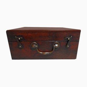 Small Antique Mahogany Box