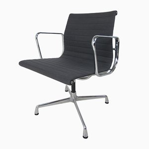 Chaise de Salon Modèle EA 108 en Aluminium par Charles & Ray Eames pour Vitra, 1980s