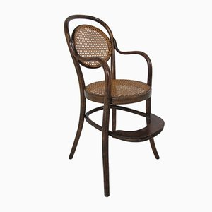 Antique Bentwood Childrens High Chair by Michael Thonet for Thonet